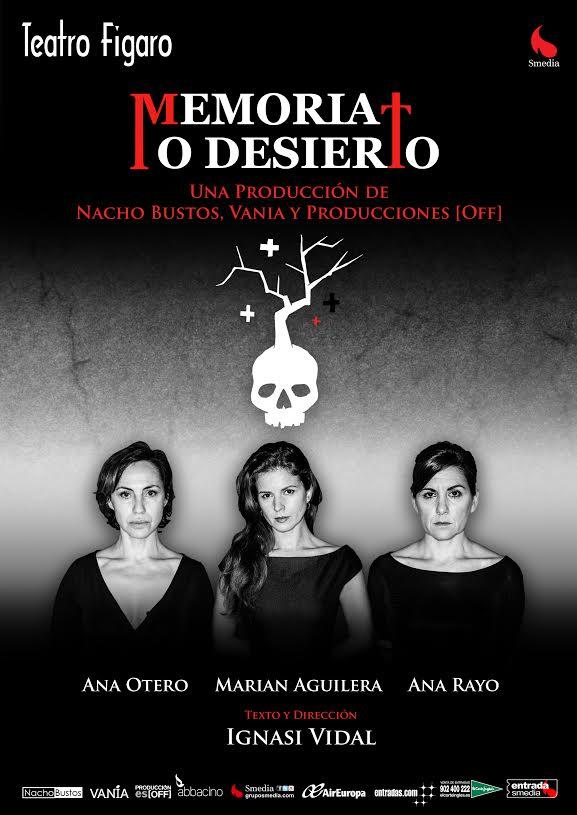 DESIERTO O MEMORIA en el Teatro Fígaro