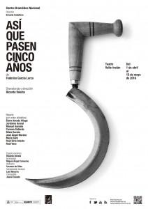 ASÍ QUE PASEN CINCO AÑOS en el Teatro Valle-Inclán