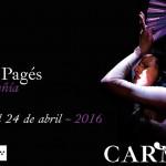 YO, CARMEN, de María Pagés,  en los Teatros del Canal