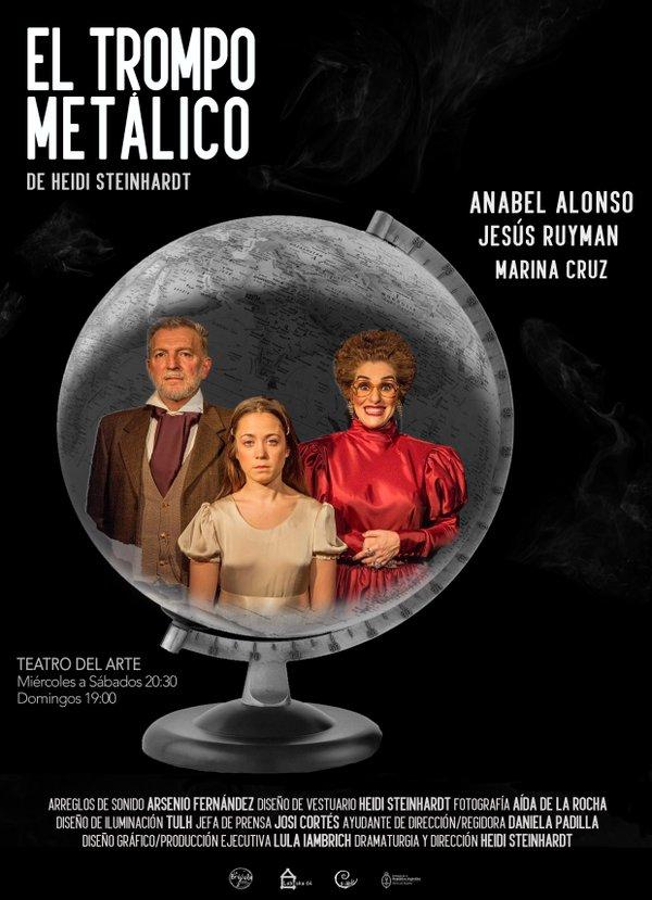 EL TROMPO METÁLICO en el Teatro del Arte
