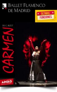 CARMEN DE BIZET - Ballet Flamenco de Madrid en el Teatro Nuevo Apolo