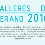 TALLERES DE VERANO 2016 en Réplika Teatro