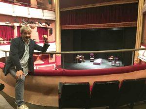 Carlos Sobera ha presentado la nueva etapa del Teatro Reina Victoria