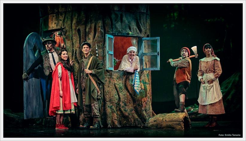 CAPERUCITA ROJA el musical en el Teatro Sanpol