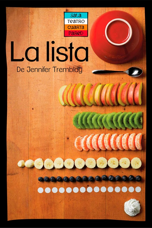 LA LISTA de Jennifer Tremblay. En Sala Cuarta Pared