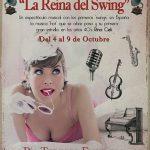LA REINA DEL SWING, Pía Tedesco en el Teatro Fernán Gómez