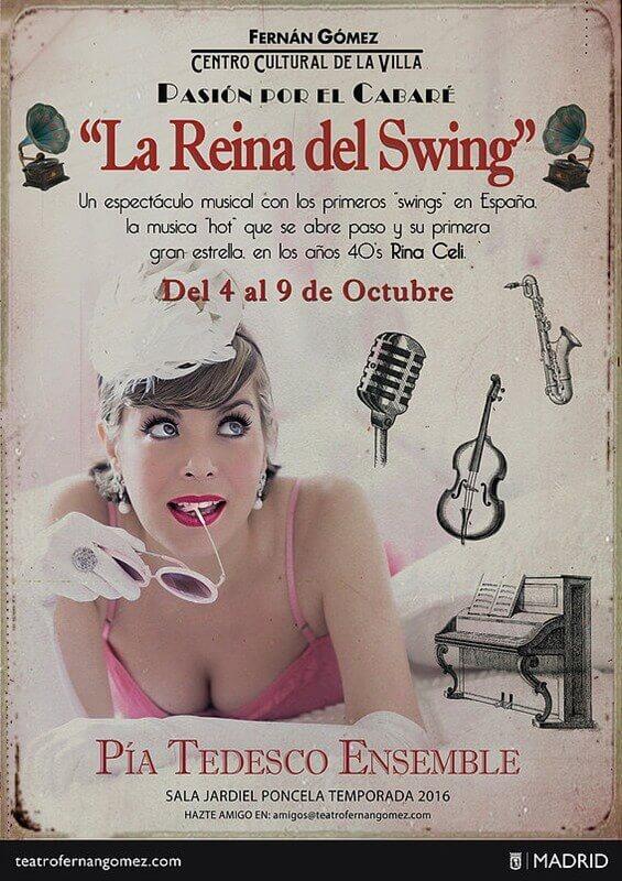 LA REINA DEL SWING en el Teatro Fernán Gómez
