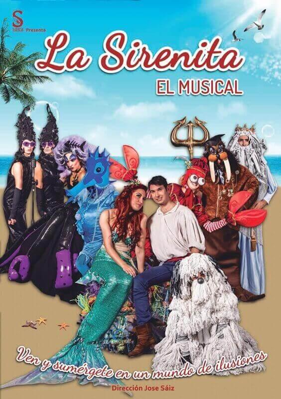 LA SIRENITA el musical en el Teatro Marquina