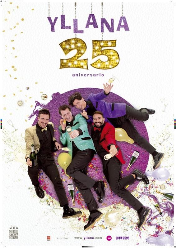YLLANA 25 en los Teatros del Canal