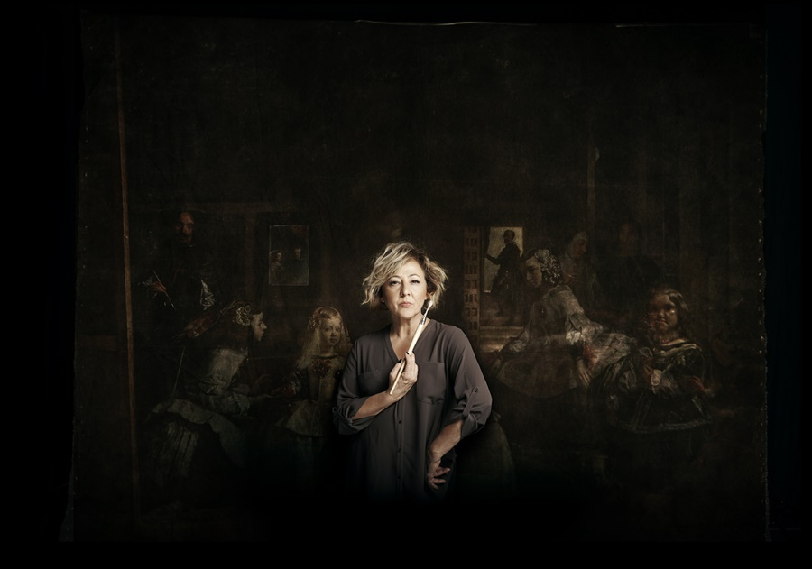 """Resultado de imagen de """"La autora de las Meninas"""". Dirigida y dramatizada por Carmen Machi"""