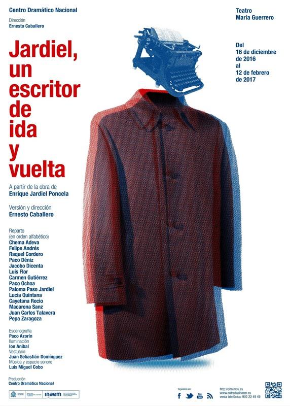 JARDIEL, UN ESCRITOR DE IDA Y VUELTA en el Teatro María Guerrero