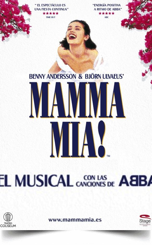 MAMMA MIA El Musical ya está en Madrid