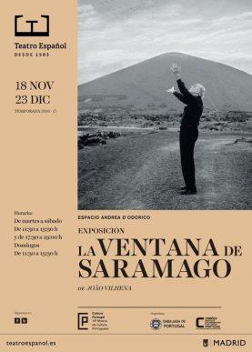Exposición: La ventana de Saramago de João Vilhena en el Teatro Español