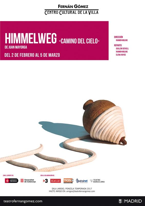 HIMMELWEG (camino del cielo) de Juan Mayorga en el Teatro Fernán Gómez