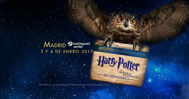 Harry Potter y La Piedra Filosofal en Concierto en el Barclaycard Center de Madrid