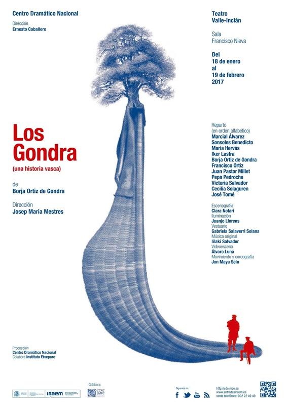 LOS GONDRA (Una historia vasca) en el Teatro Valle-Inclán