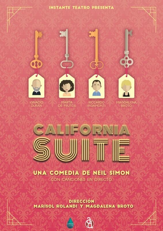 CALIFORNIA SUITE en el Teatro Arte&Desmayo