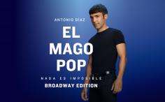 NADA ES IMPOSIBLE, el Mago Pop, en el teatro Nuevo Apolo
