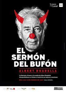 EL SERMÓN DEL BUFÓN de Albert Boadella en el Teatro Marquina