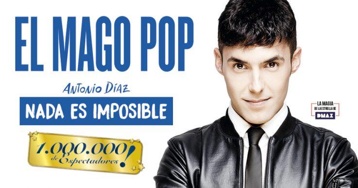 NADA ES IMPOSIBLE, el Mago Pop, en el Teatro Rialto