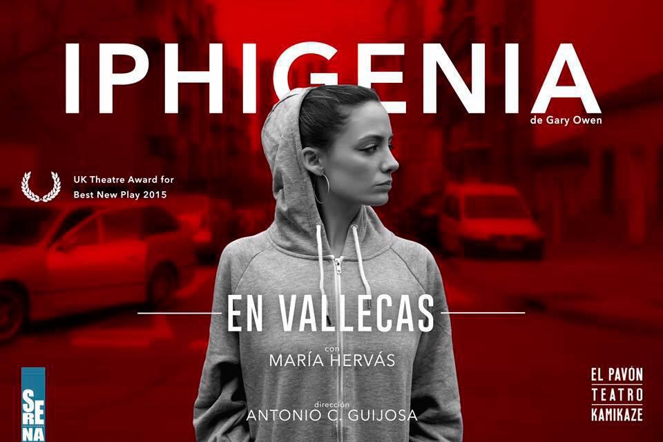 María Hervás es IPHIGENIA EN VALLECAS en el Teatro Kamikaze