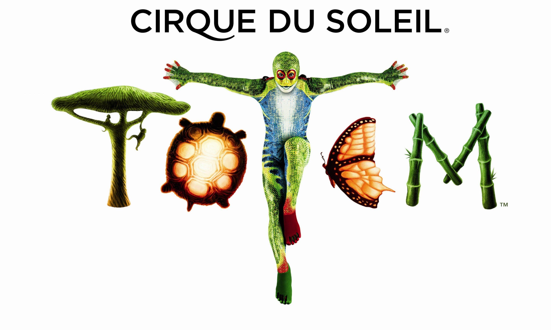 TOTEM DE CIRQUE DU SOLEIL (el circo del sol)