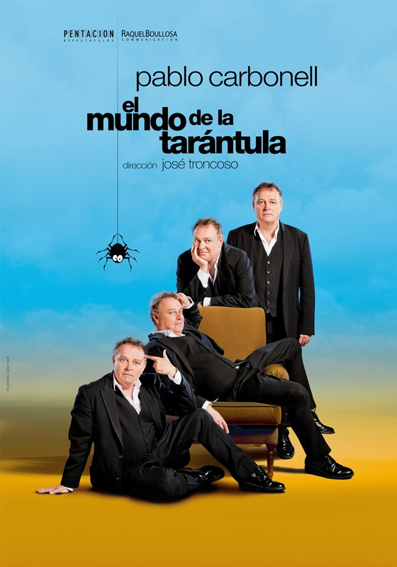 EL MUNDO DE LA TARÁNTULA en el Teatro Bellas Artes