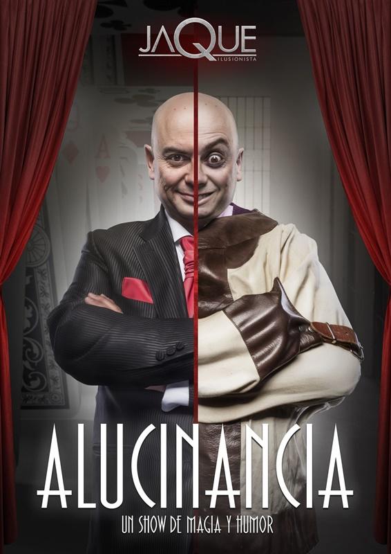 ALUCINANCIA MAGO JAQUE en el Teatro Galileo