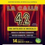 LA CALLE 42. Una Antología de musicales en el Auditorio Nacional de Música