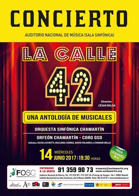 LA CALLE 42. Una Antología de musicales