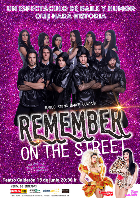 """REMEMBER ON THE STREET"" de MAMBO SWING DANCE COMPANY"