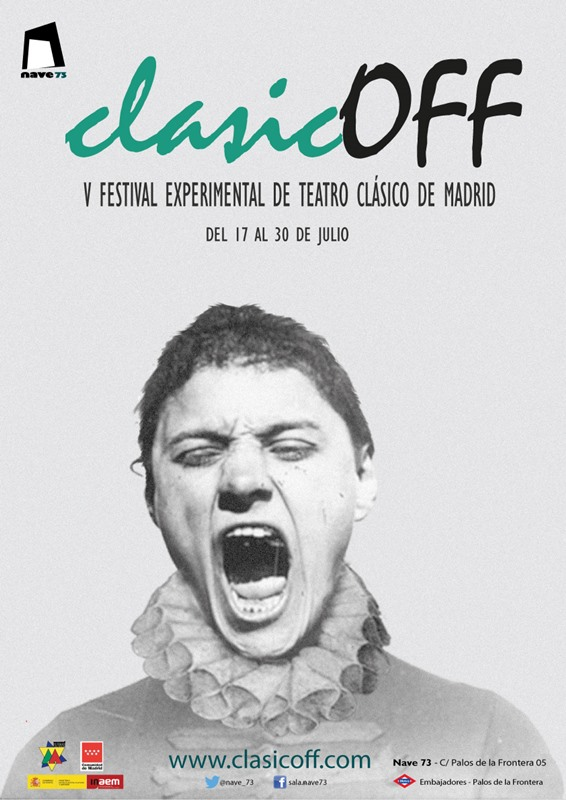 V Festival Experimental de Teatro Clásico - CLASICOFF en Nave 73