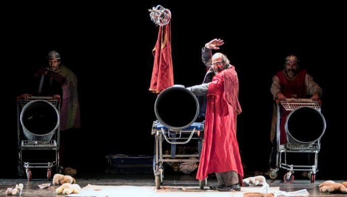 AHORA TODO ES NOCHE de La Zaranda en el Teatro Español