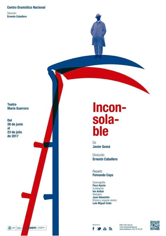 INCONSOLABLE de Javier Gomá en el Teatro María Guerrero