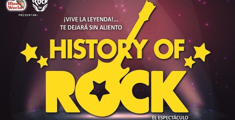 HISTORY of ROCK en el Teatro Calderón