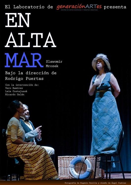 EN ALTA MAR en el Teatro Arlequín Gran Vía