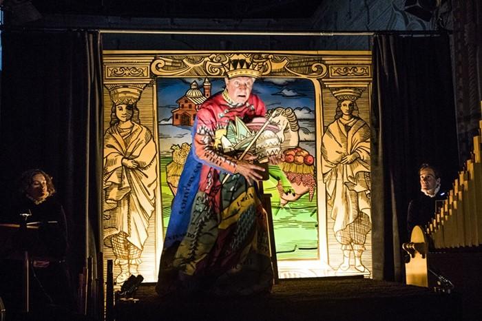EUROPA, QUE A SÍ MISMA SE ATORMENTA en el Teatro de La Abadía