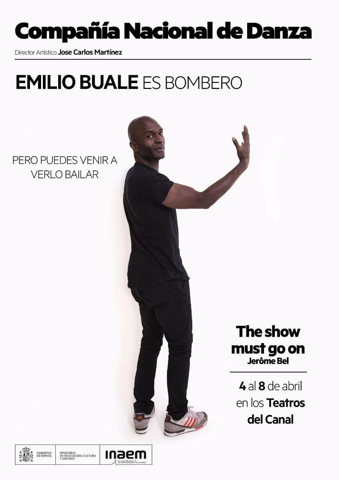 THE SHOW MUST GO ON de Jérôme Bel en los Teatros del Canal