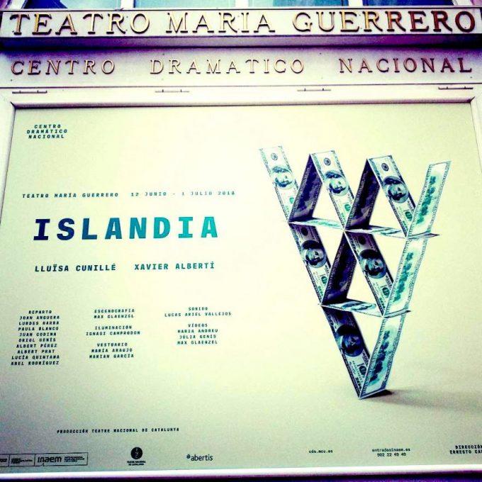 ISLANDIA de Lluïsa Cunillé en el Teatro María Guerrero