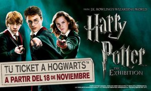 HARRY POTTER the exhibition en Madrid