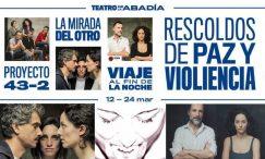 VIAJE AL FIN DE LA NOCHE de la Compañía Proyecto 43-2, en el Teatro Abadía
