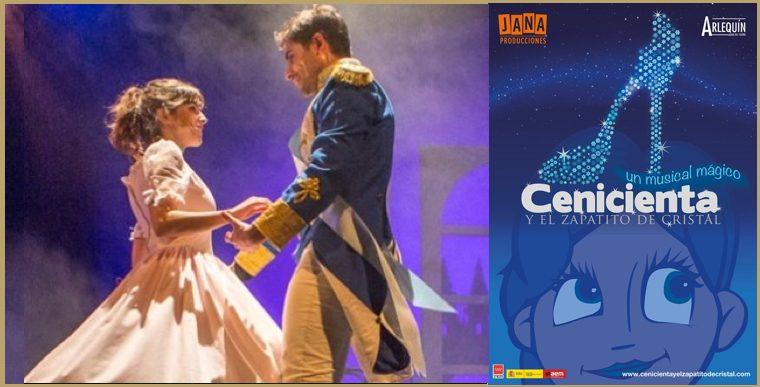 CENICIENTA Y EL ZAPATITO DE CRISTAL en el Teatro Arlequín Gran Vía