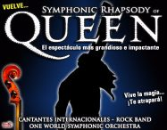 SYMPHONIC RHAPSODY OF QUEEN en el Teatro Calderón