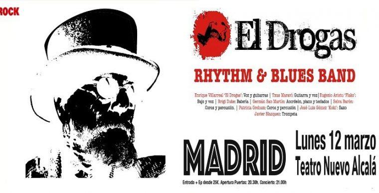 EL DROGAS en concierto en Madrid