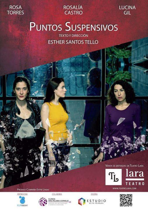 PUNTOS SUSPENSIVOS en los Teatro Lara
