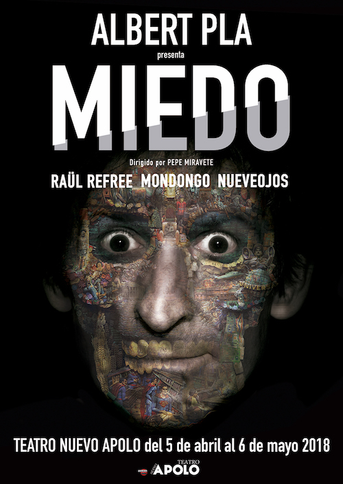 """""""MIEDO"""" DE ALBERT PLÁ en el Teatro Nuevo Apolo"""