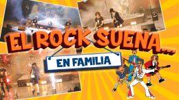 EL ROCK SUENA EN FAMILIA en el Teatro Bellas Artes