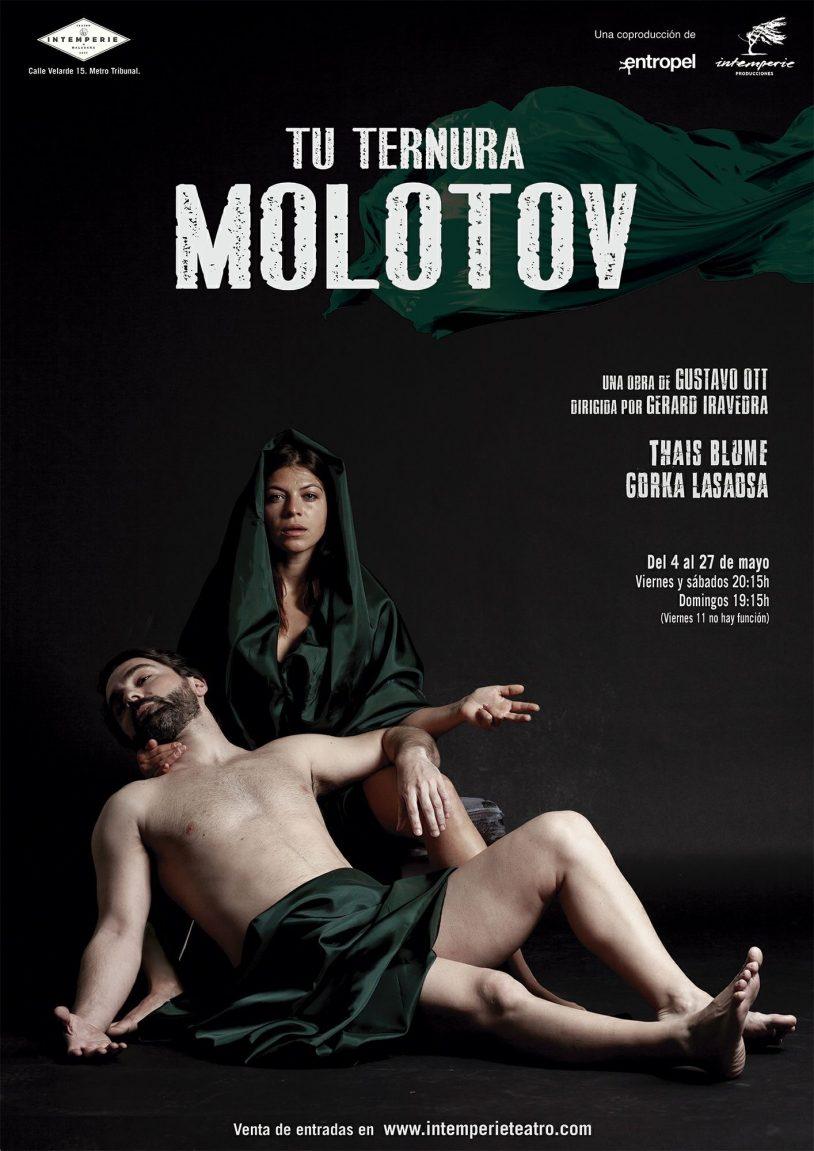 TU TERNURA MOLOTOV en la Sala Intemperie Teatro