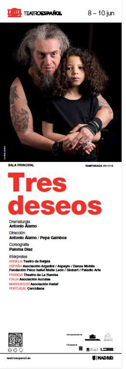 TRES DESEOS en el Teatro Español