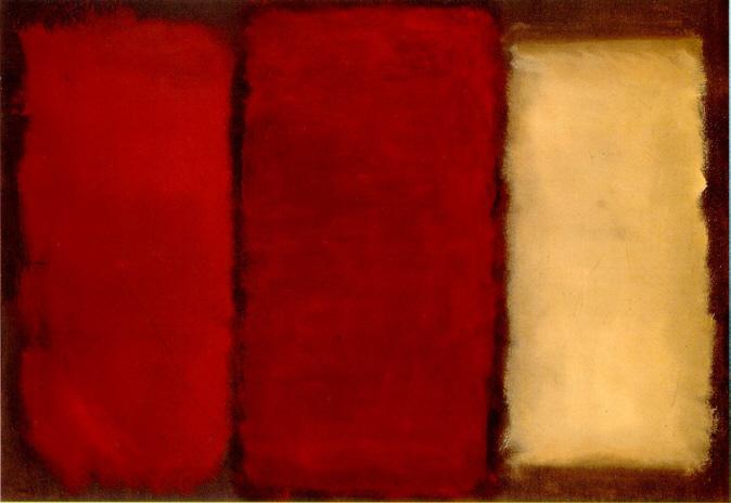 Untitled Canvas 1964 - Mark Rothko